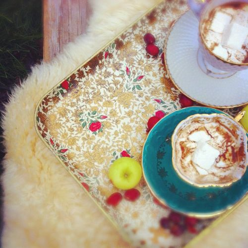Holly tea infused treats 2